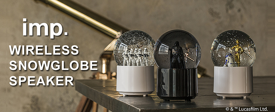 imp. Wireless Snowglobe Speaker